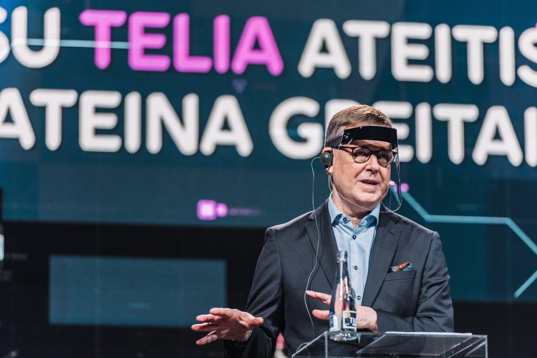 """""""Telia"""" vadovas Danas Strombergas.<br>""""Telia"""" nuotr."""