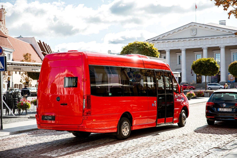 Iki 2023 m. viešojo transporto parką papildys 22 nauji elektra varomi autobusai.<br>Pranešėjų spaudai nuotr.