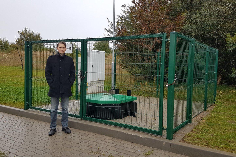Vilniaus rajono Naujasodžių gyvenvietėje gyvenantis Vaidas Radzickas.