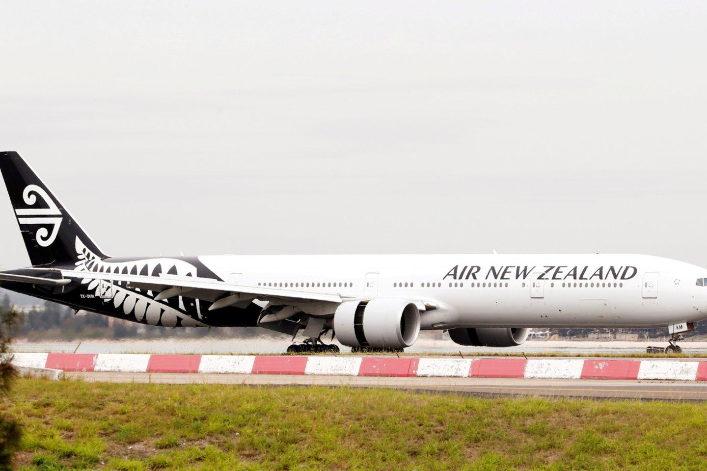 """Air New Zealand"" lėktuvas.<br>Reuters/Scanpix nuotr."