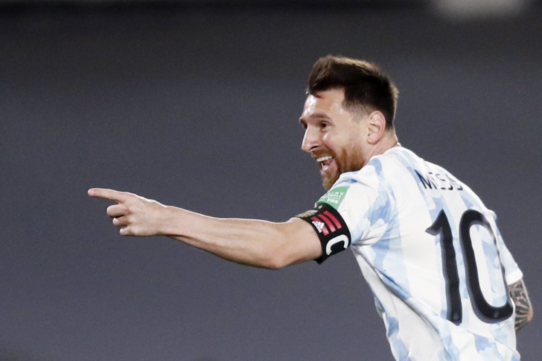 L.Messi vedė Argentiną į pergalę.<br>Reuters/Scanpix nuotr.
