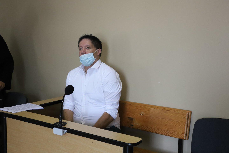 Per bylos nagrinėjimą Šiaulių apylinkės teisme V.Motas kaltu prisipažino, tačiau liko nepatenkintas nuosprendžiu ir jį apskundė.<br>R.Vitkaus nuotr.