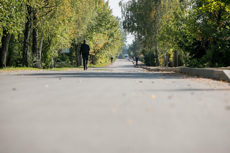Vilnius neapsiribos pavasarį suplanuotų 12 kilometrų gatvių sutvarkymu ir asfaltavimu.<br>Panešėjų spaudai nuotr.
