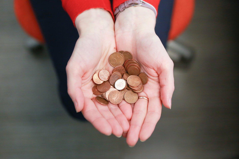 Šiuo metu minimalus valandinis atlygis – 3,93 euro.<br>G.Bitvinsko nuotr.