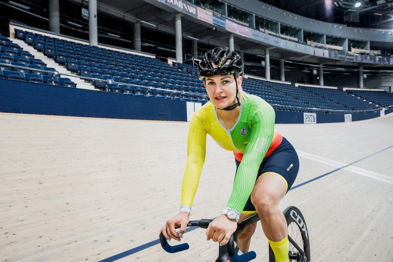 Simona Krupeckaitė.<br>UCI Čempionų lygos nuotr.