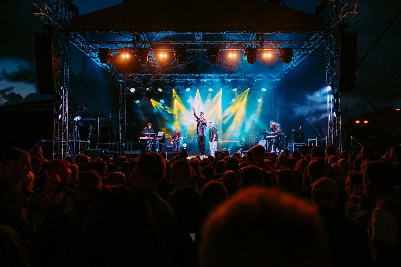 """""""8 Kambarys"""" užbaigė keturis mėnesius trukusį koncertinį turą po Lietuvą.<br> A.Grikio nuotr."""