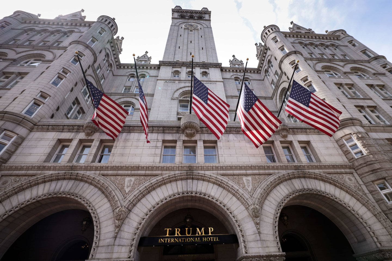 """Viešbutis""""Trump International Hotel"""".<br>AFP/Scanpix nuotr."""
