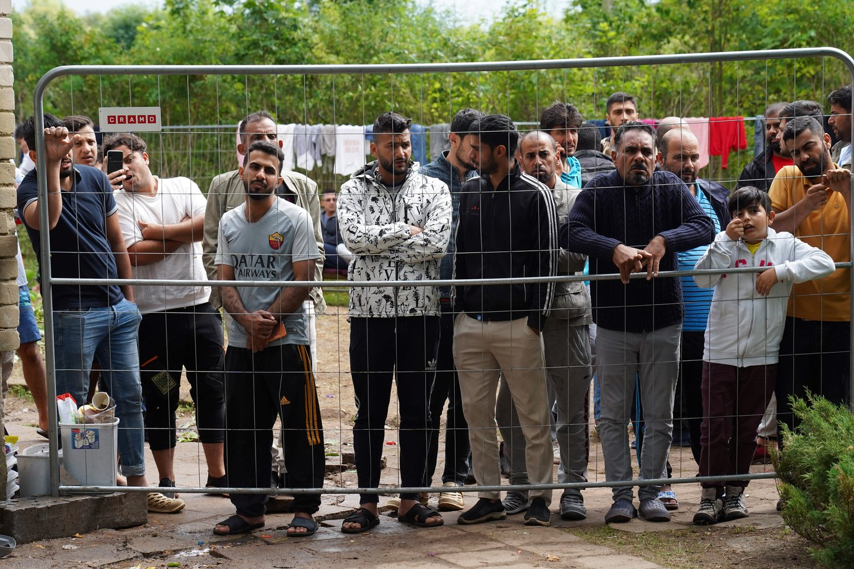Per Baltarusijos sieną į Lietuvą bandę patekti nelegalūs imigrantai.<br>Reuters/Scanpix nuotr.