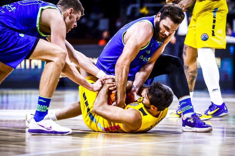 """""""Dinamo"""" -""""Tenerife"""".<br>FIBA nuotr."""