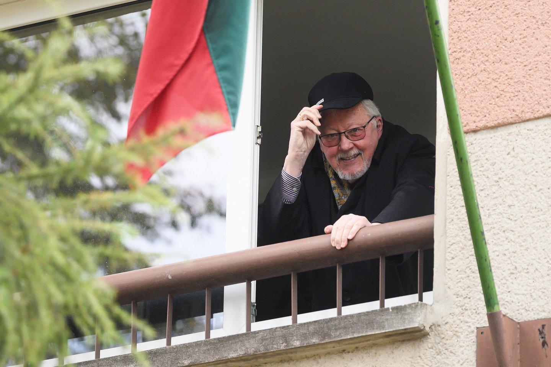 V.Landsbergis.<br>V.Skaraičio nuotr.