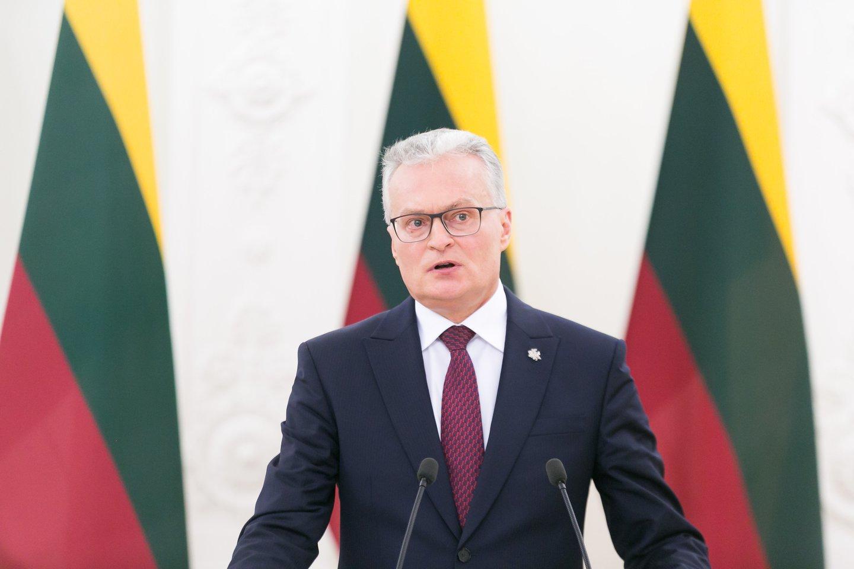 Prezidentas Gitanas Nausėda šią savaitę pasirašys Seimo priimtas įstatymo pataisas.<br>T.Bauro nuotr.