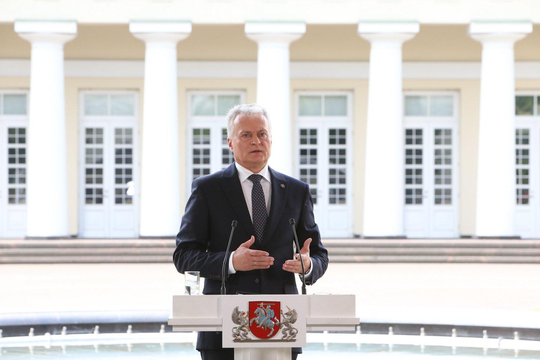 Prezidentas Gitanas Nausėda šią savaitę pasirašys Seimo priimtas įstatymo pataisas.<br>R.Danisevičiaus nuotr.