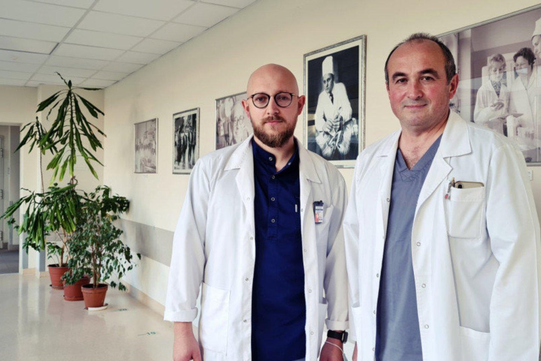 Justas Birutis ir Rolandas Burkauskas<br>RŠL nuotr.