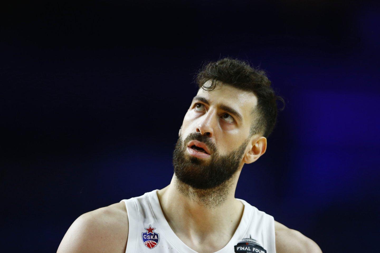 CSKA puolėjas T.Šengelija.<br>Reuters/Scanpix nuotr.