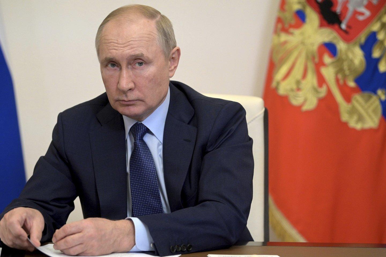 Rusijos prezidentas V. Putinas.<br>ZUMA Press/Scanpix nuotr.