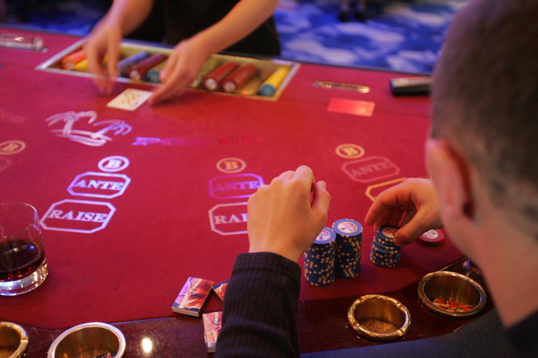Nuo 2022 metų liepos lošimų verslas bus pertvarkomas.<br>M.Vizbelio nuotr.