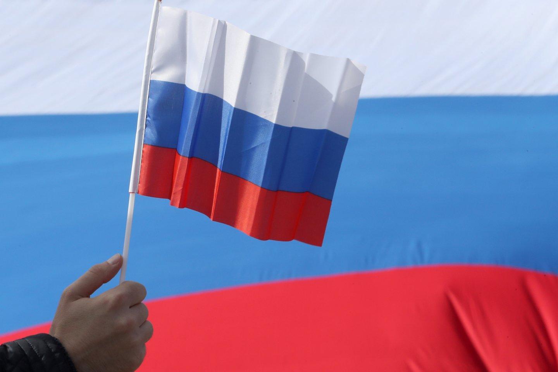 Rusija atsakys į Europos Sąjungos jai taikomų sankcijų išplėtimą.<br>TASS/Scanpix nuotr.