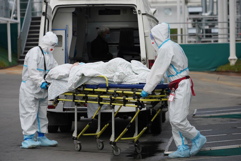 Koronavirusas Rusijoje.<br>Reuters/Scanpix nuotr.