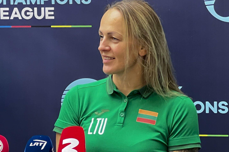 Trekininkė Simona Krupeckaitė<br>V.Ščiavinsko nuotr.