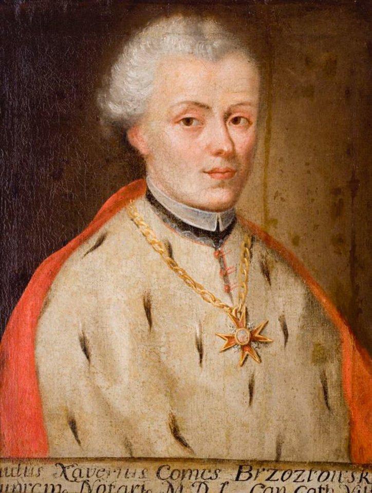 Grafas Povilas Ksaveras Bžostovskis. (Bažnytinio paveldo muziejaus nuosavybė).<br>Organizatorių nuotr.