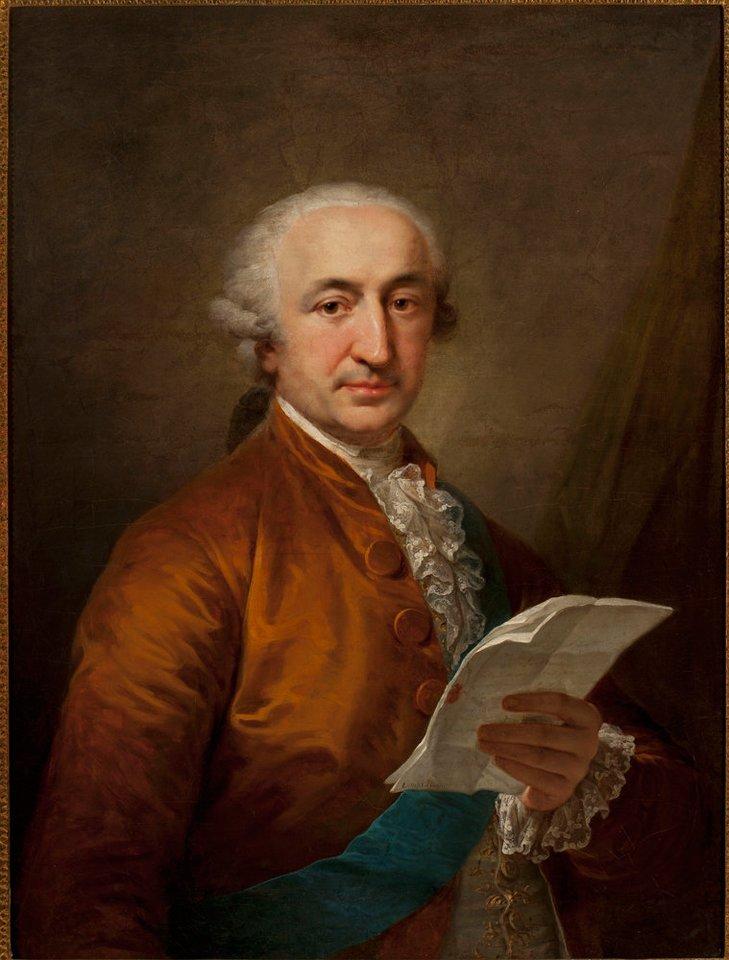 Portret Stanisława Małachowskiego (1736-1809). (Muzeum Narodowe w Warszawie nuosavybė).<br>Organizatorių nuotr.
