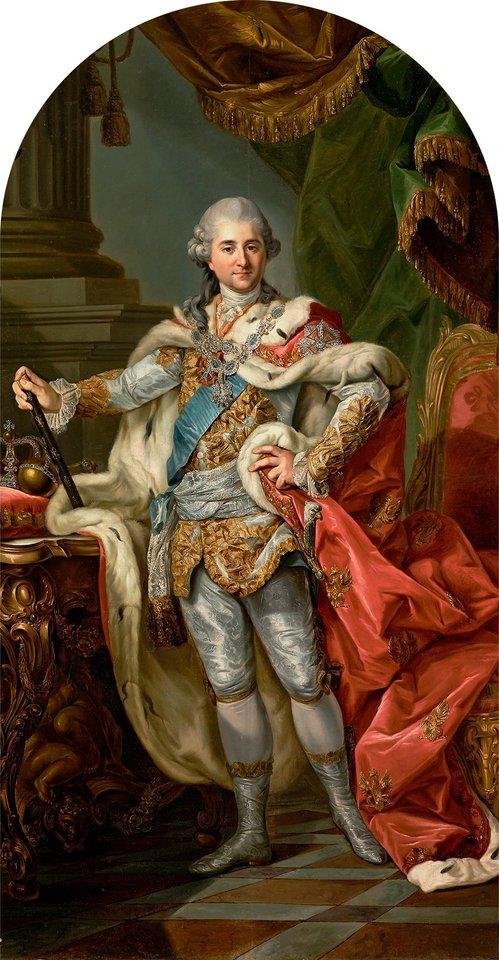 Stanislovas Augustas Poniatovskis, dail. M. Bacciarelli (Varšuvos karališkosios pilies nuosavybė).<br>Organizatorių nuotr.
