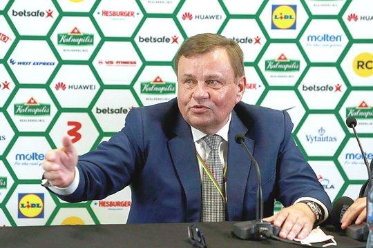 LKF prezidentas V.Gedvilas.