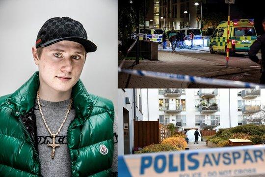 Tragedija Švedijoje: Stokholme nužudytas reperis Einaras.